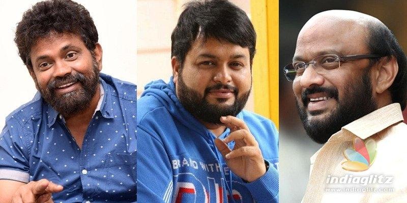 Haarika & Hassine, Mythri, Sukumar, Thaman make donations