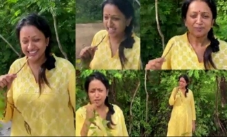 Anchor Suma Kanakala Brushing Her Teeth With Neem Stick | IndiaGlitz Telugu