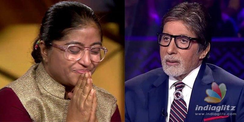 Social activist Sunitha Krishnan appears on KBC