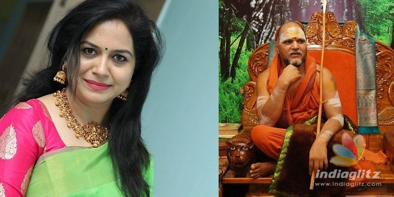 Sunitha refutes Swamy Swaroopanandendras claim