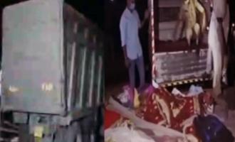 ఫుట్పాత్పై నిద్రపోతున్న వారిపై దూసుకెళ్లిన ట్రక్కు...15 మంది మృతి