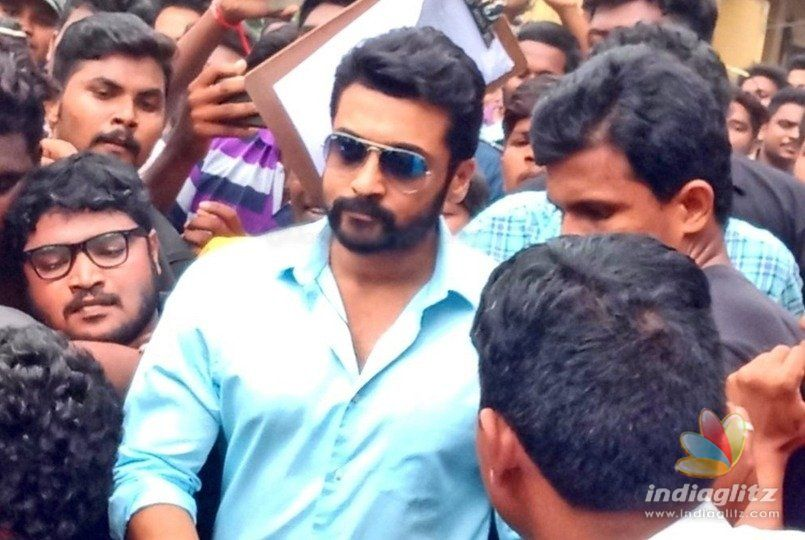 Suriyas craze comes to the fore in Rajahmundry
