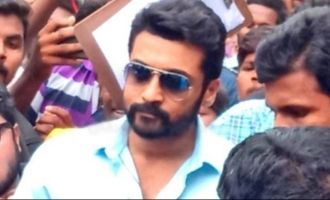 Suriya's craze comes to the fore in Rajahmundry