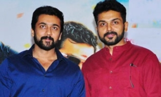 Suriya-Karthi donate Rs 1 Cr to CMRF