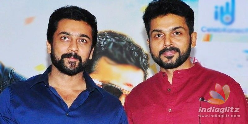 Like Suriya, Karthi resolves to help farmers