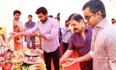 Suriya , Selvaraghavan Movie Opening