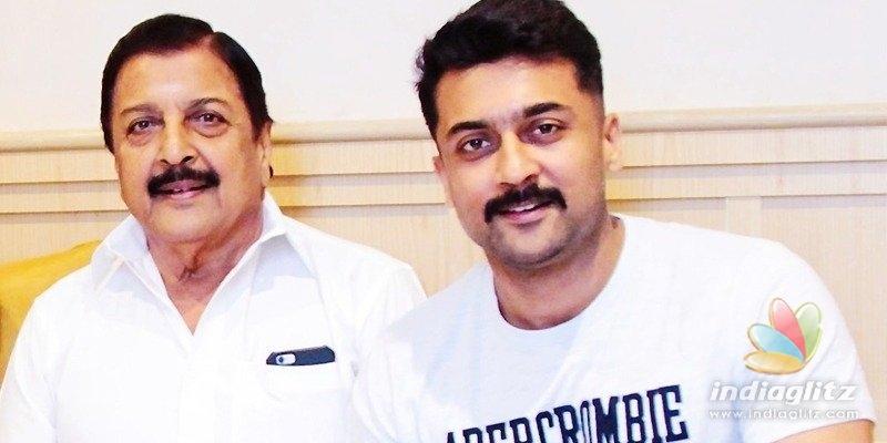 TTD files police complaint against Suriyas dad, Sivakumar