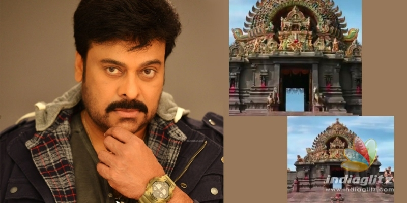 Surprise from Chiranjeevi: Glimpses of Acharyas temple set out!