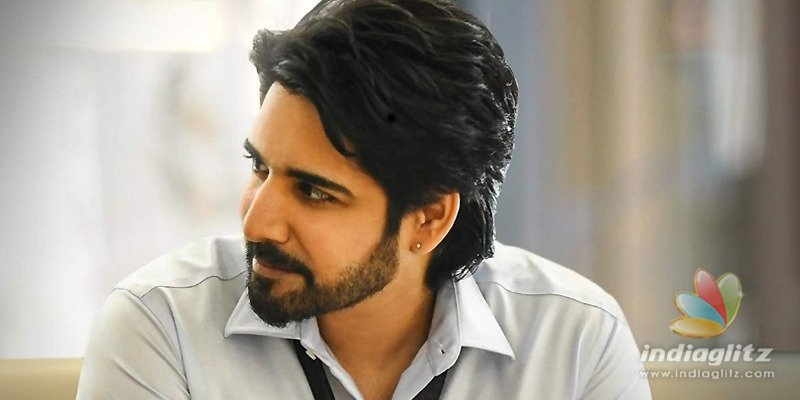 Sushanth sets out with home-made mask for essentials