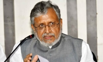 Lalu Prasad Yadav is calling our MLAs from jail: BJP leader Sushil Modi