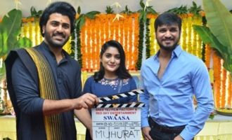 Nikhil-Nivetha's 'Swaasa' launched