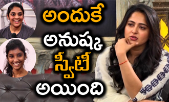 Why Anushka called Sweety- Bhaagamthie Interview