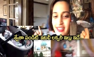 Singer Shweta Pandit Luxury House Inside View At Italy