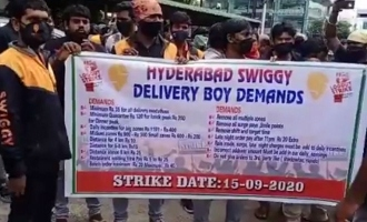 Swiggy delivery boys go on a strike; Here is why