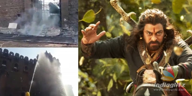 Report raises doubts over Sye Raa fire accident