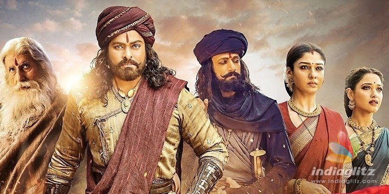 Sye Raa gets low in Hindi, but hope is there