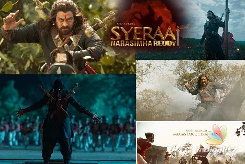 Sye Raa Narasimha Reddy teaser: Chiranjeevi is fierce as Uyyalawada Narasimha Reddy