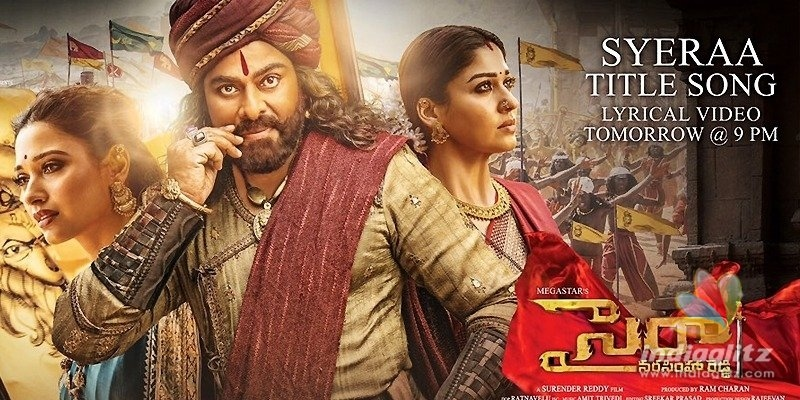 Sye Raa title track locks its date