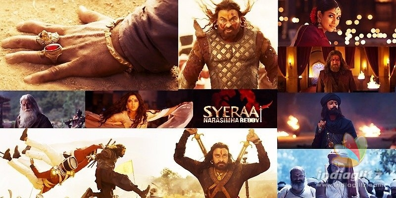 Power-packed, Exhilarating & Patriotic Sye Raa Teaser