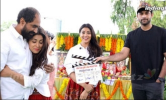 Shriya New Movie Launch