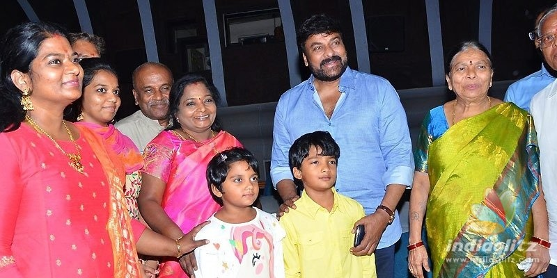 T Governor watches Sye Raa with family