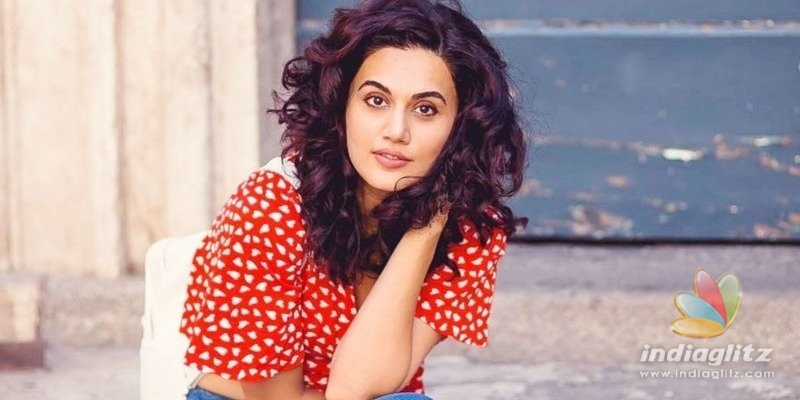 After IT raids, Taapsee Pannu finally opens up