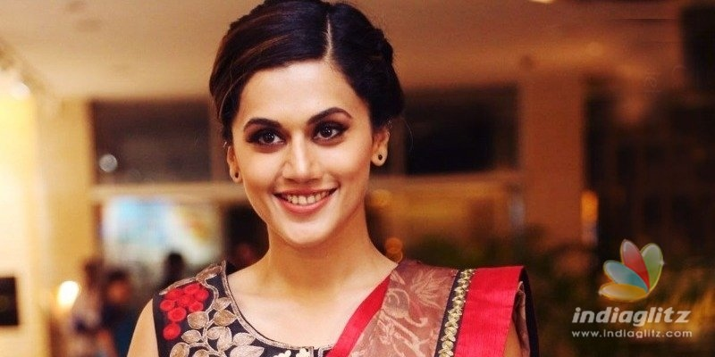 Taapsee Pannu joins comedy caper Mishan Impossibles team