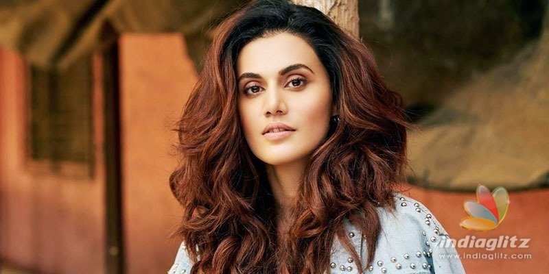 A heros wife wanted me to be replaced: Taapsee Pannu