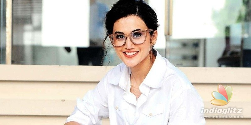 Taapsee Pannu trains for Shabaash Mithu with cricketer Mithali Raj