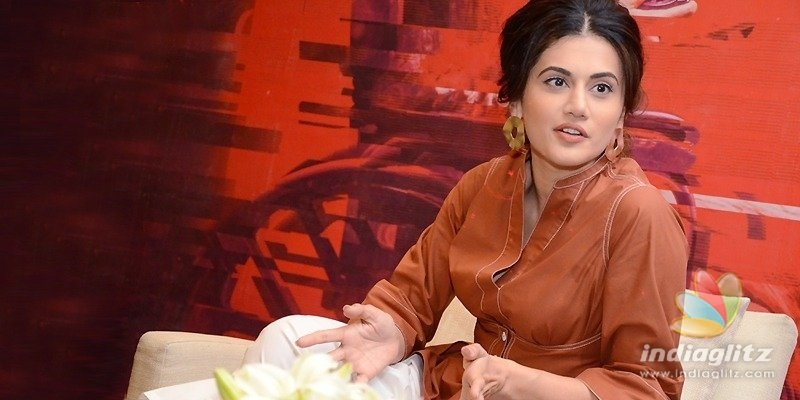 Game Over is first of its kind movie: Taapsee Pannu