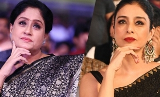 Who is best in re entry Vijayashanthi or Tabu
