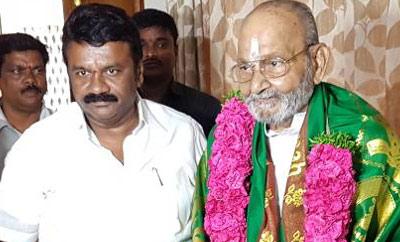 Talasani Srinivas Meets  K Vishwanath