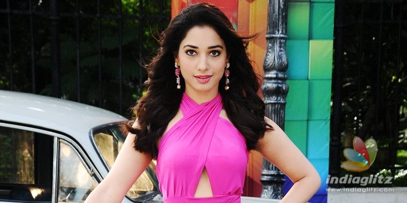 Tamannaah tries jugad with digital workout sessions!