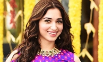 Tamannaah is embracing nature