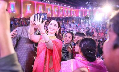 Tamannah @ Dildar Dandiya Celebrations