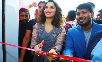 Tamannaah Launches  B New Mobile Store At Karimnagar