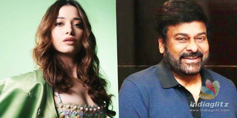 Tamannaah Bhatia to romance Megastar Chiranjeevi?