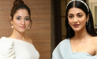 Tamanna lauds Shruthi Haasan as her best friend!