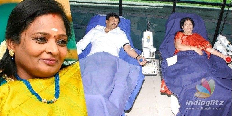 Telangana Governor lauds Chiranjeevi