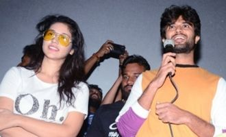 'Taxiwala' Team @ Arjun and Gokul Theatres