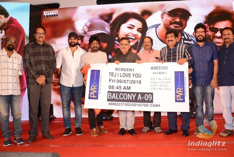 Producers bond at Tej I Love U pre-release event