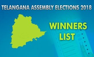 Telangana Assembly Elections 2018 Winners List