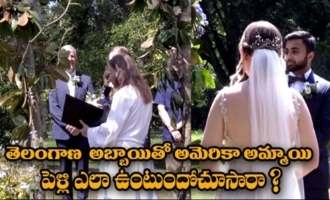 Telangana Guy Marries American Girl