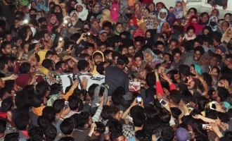 Pic Talk: Thousands attend funeral of terrorist in Kashmir in COVID-times