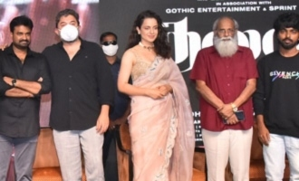 'Thalaivi' Trailer Launch