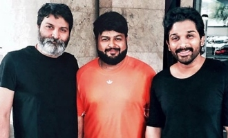 Thaman stars work on Bunny-Trivikram's movie