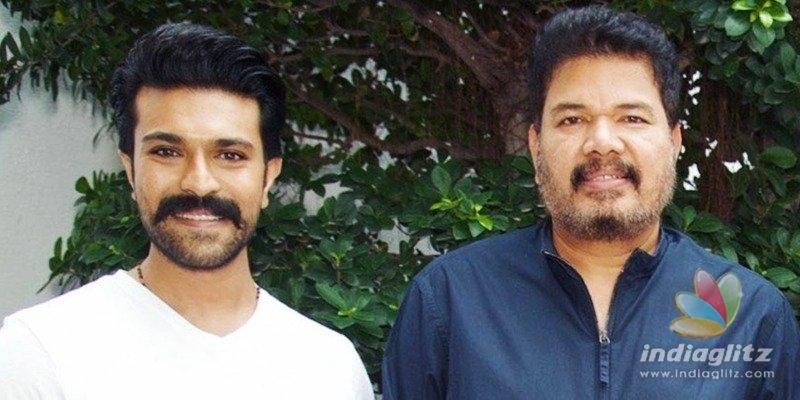 Thaman in music sittings for Ram Charan-Shankars movie