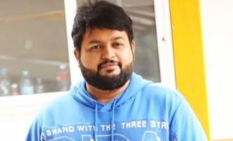 Thaman in music sittings for Ram Charan-Shankar's movie