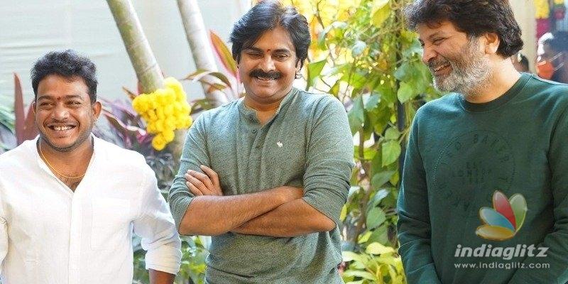 Pic Talk: Thaman has euphoria as he poses with Pawan Kalyan
