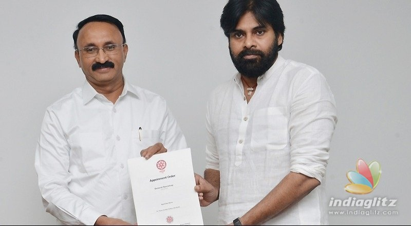 Pawan Kalyan works tirelessly: Jana Senas new chief secretary